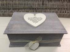 Shabby RUSTIC Chic Distressed LARGE Box Sister On Wedding Day personalised Gift - 332391213752